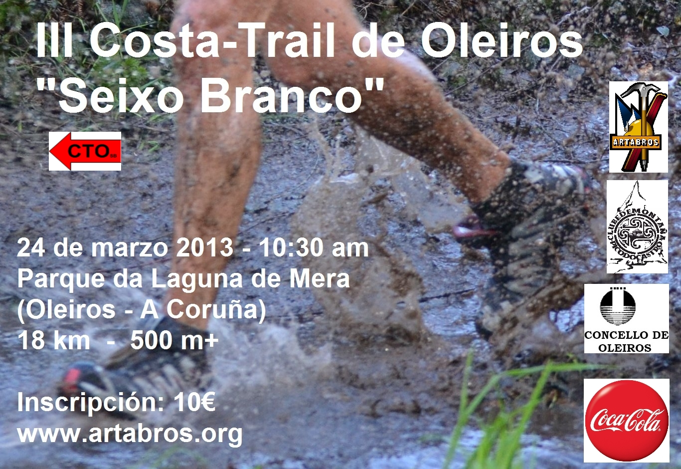 Cartel Trail Oleiros - copia