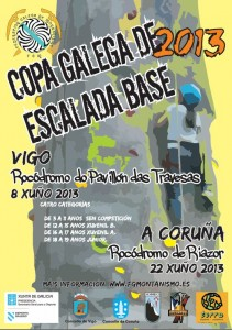Cartel Escalada Base 2013